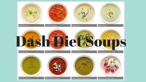 Dash Diet Soups