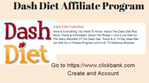 Dash Diet Affiliate Program