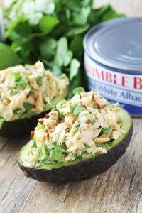 Avocados Stuffed with Tuna