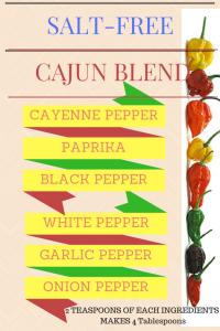 SALT-FREE Cajun Blend