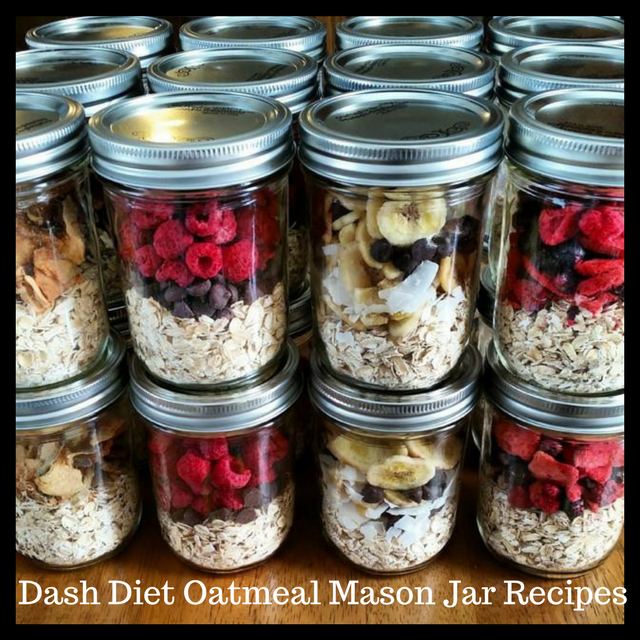 how to flavor oatmeal dash diet